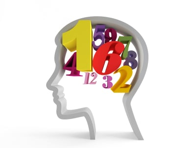 Numerals in head.
