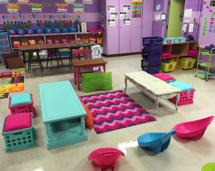 Classroom Furniture Grants ~ Five ideas to maximize classroom space with an engaging