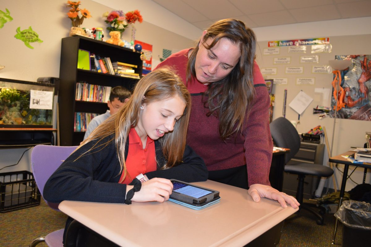 Teachers at Imagine Schools encourage exploration, critical thinking, and the use of technology so students become successful in learning and life.